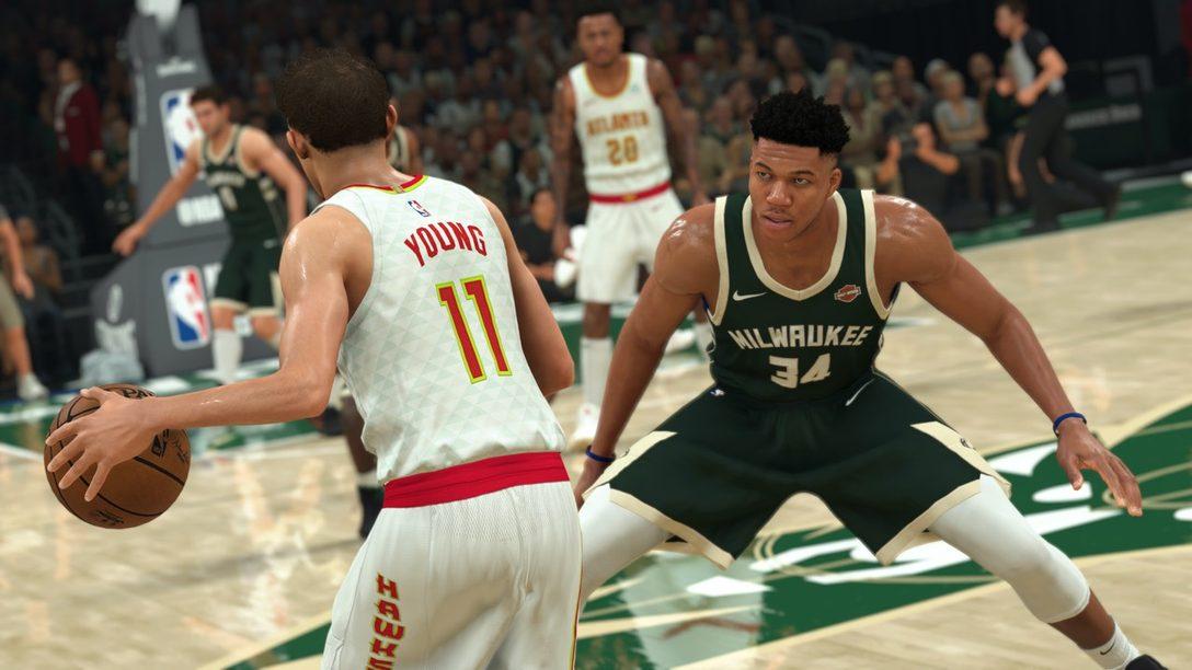 Nuevas funciones del gameplay de NBA 2K21 reveladas