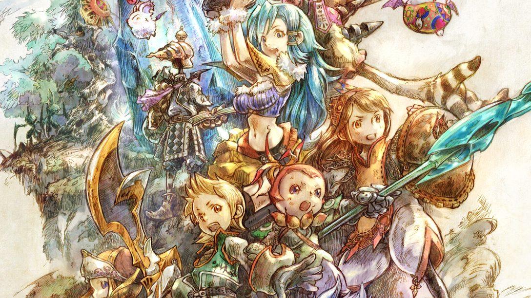 Da una visita guiada por el hermoso arte conceptual de Final Fantasy Crystal Chronicles Remastered Edition