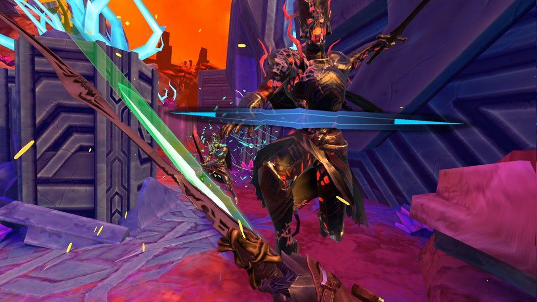 El roguelite de espadas Until You Fall llegará este año a PS VR