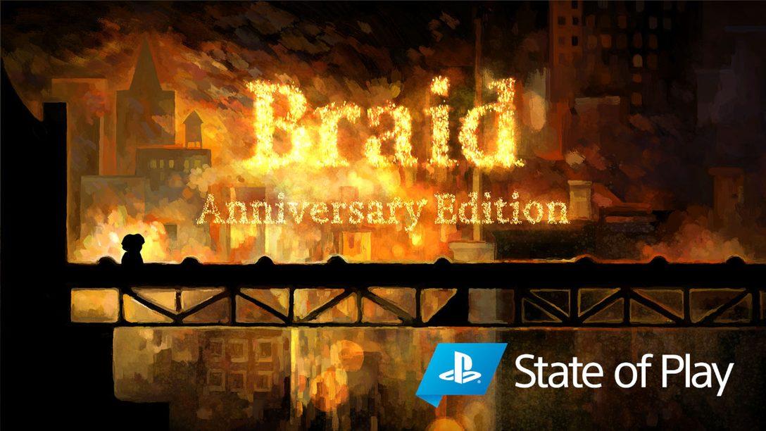 Anunciamos Braid, Anniversary Edition para PS4 y PS5.