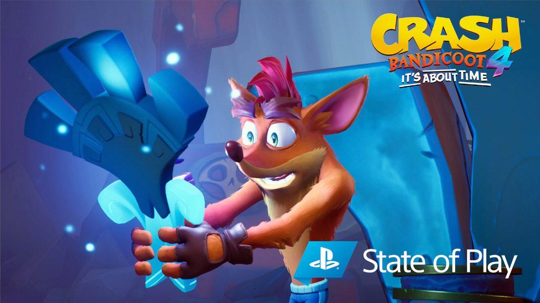 Nuevo modo N. Vertido, personajes jugables y muchas más noticias sobre Crash Bandicoot 4: It's About Time