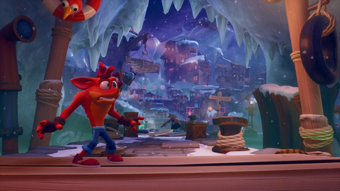 Explorando el familiar, pero evolucionado juego de plataformas Crash Bandicoot 4: It's About Time