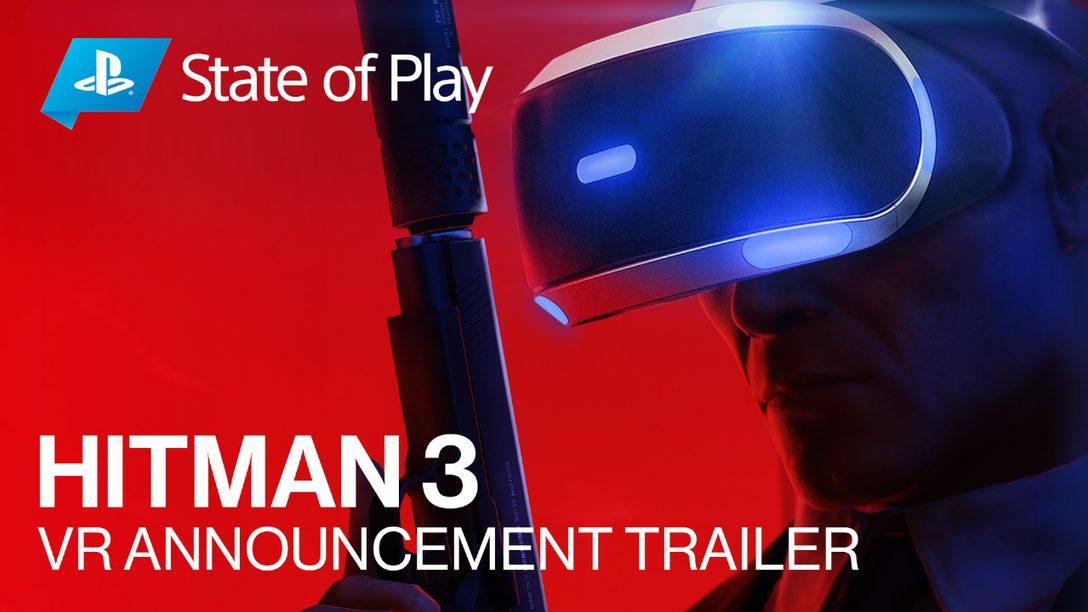 Hitman 3 agrega compatibilidad con realidad virtual para su lanzamiento en enero de 2021