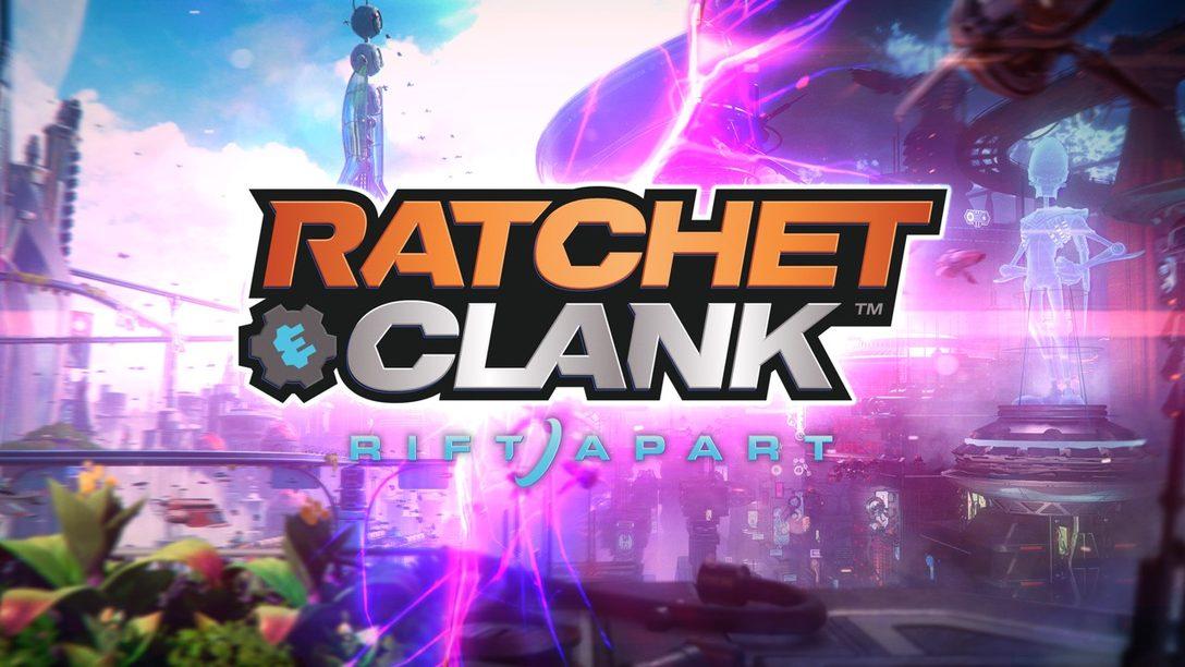 Un vistazo extendido al gameplay de Ratchet & Clank: Rift Apart