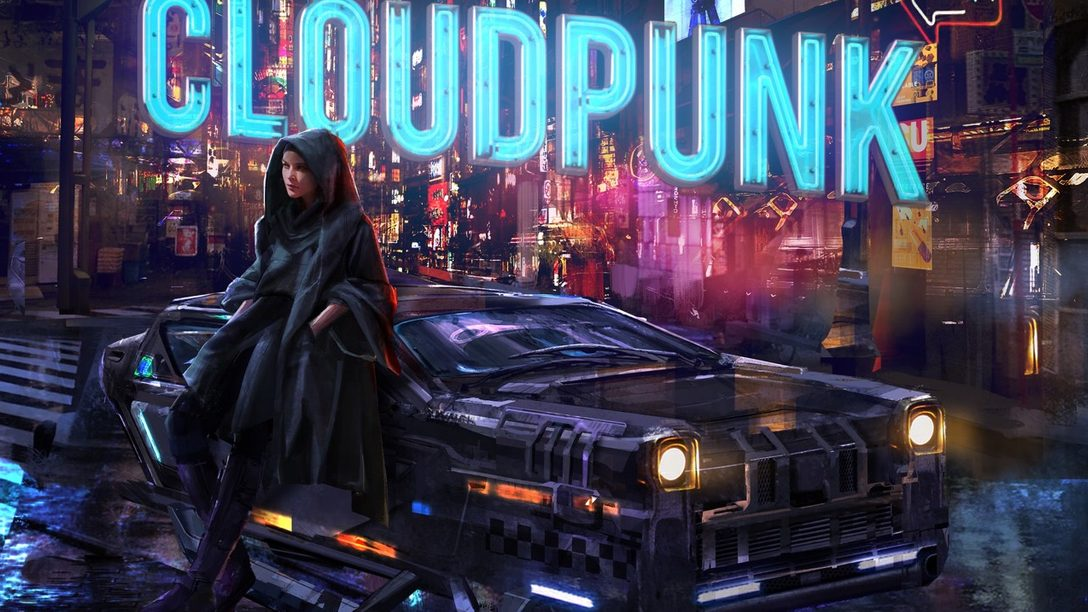 La aventura cyberpunk, Cloudpunk, llegará a PS4 el 15 de octubre