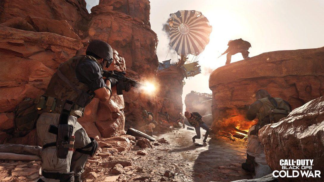 Juega Call of Duty: Black Ops Cold War PlayStation 4 Alpha entre el 18 y 20 de septiembre