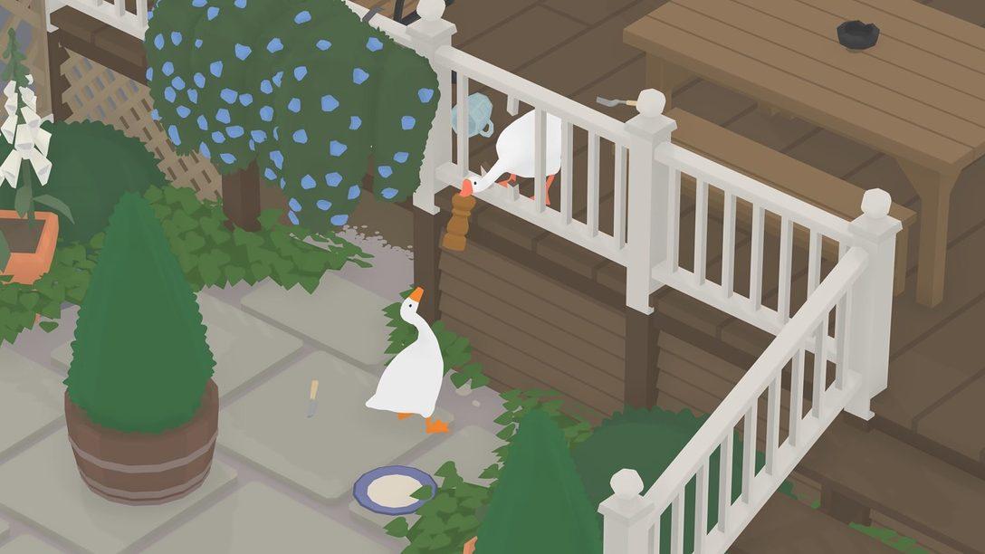 Así es como House House agregó multijugador a Untitled Goose Game