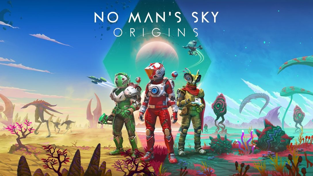 """Anunciamos """"Origins"""", la más reciente actualización para No Man's Sky"""
