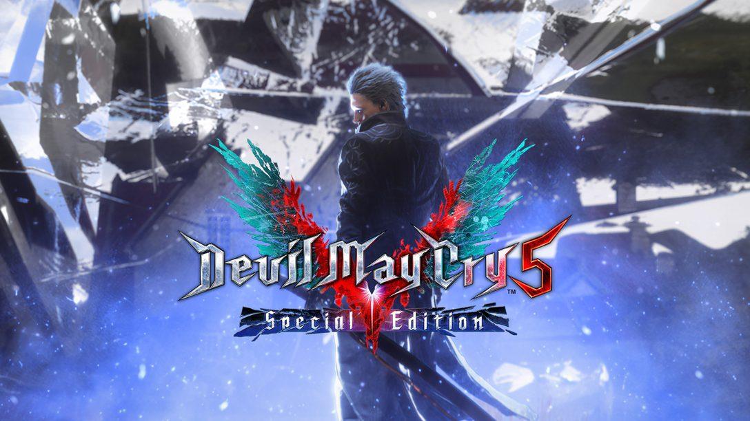 La Edición especial de Devil May Cry 5 llega a PlayStation 5