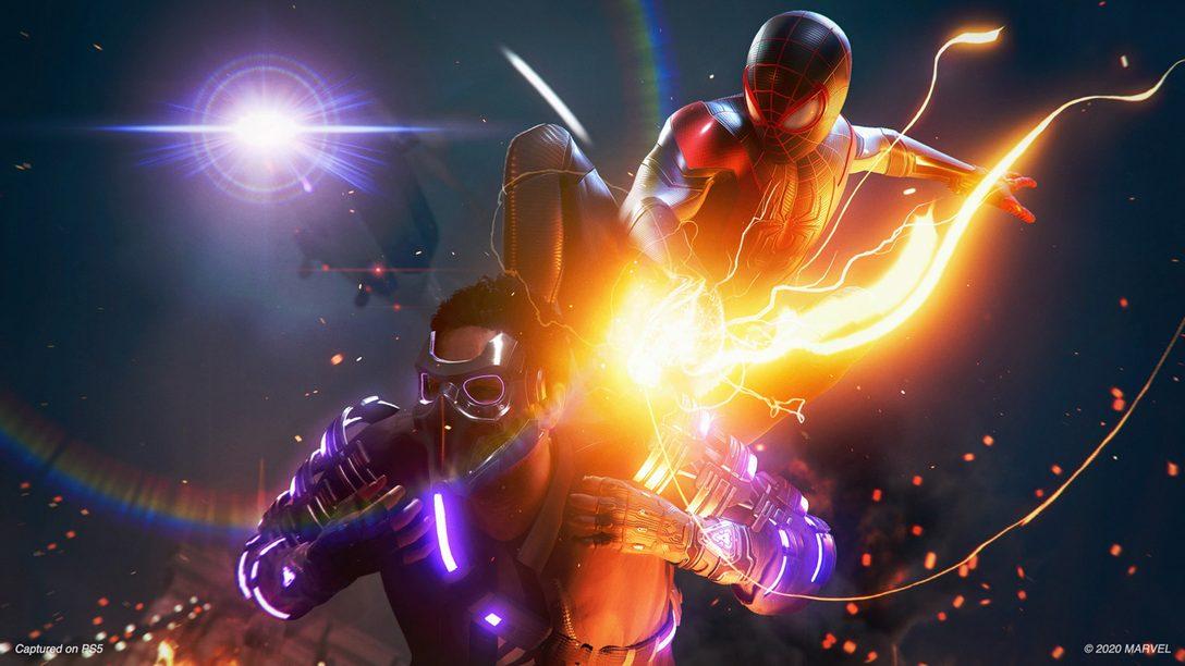 Mira el nuevo video de gameplay de Marvel's Spider-Man: Miles Morales