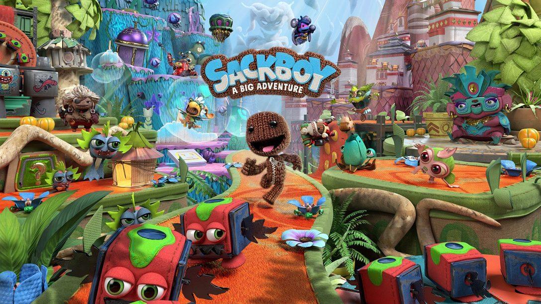 Embárcate en una épica aventura de plataformas en 3D en Sackboy: A Big Adventure, espéralo en PS5
