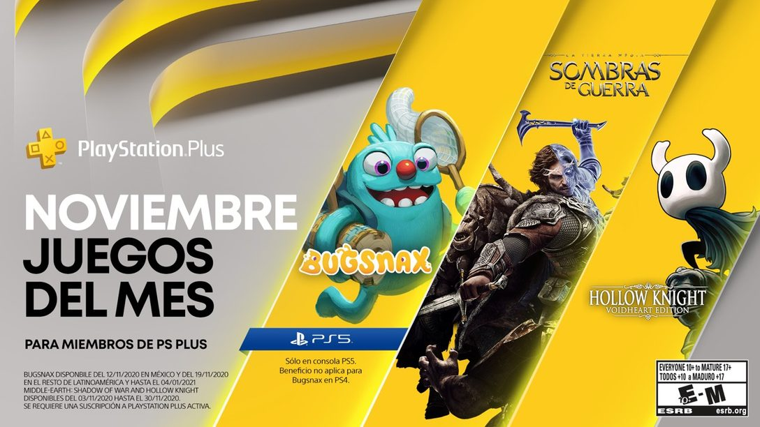 Detalles de PlayStation Plus Collection y Juegos de PlayStation Plus para noviembre