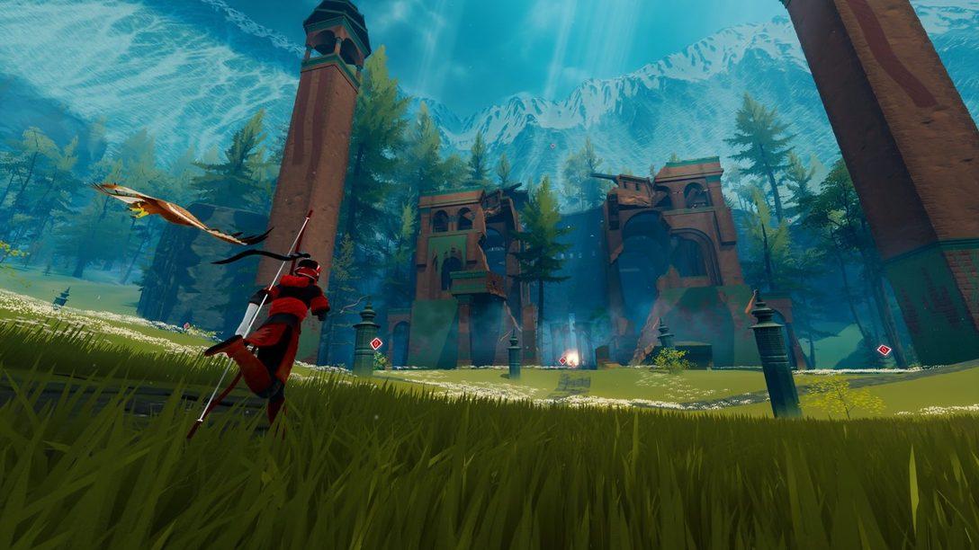 Construyendo el vasto y misterioso mundo de The Pathless, espéralo el 12 de noviembre en PS4 y PS5