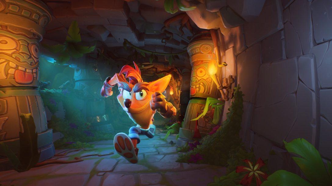 Crash Bandicoot 4: It's About Time gira hacia PS4 el 2 de octubre