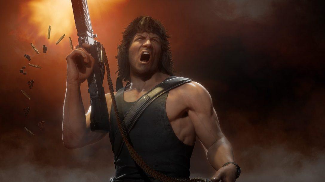 Mortal Kombat 11 Ultimate traerá a Rain, Mileena y Rambo