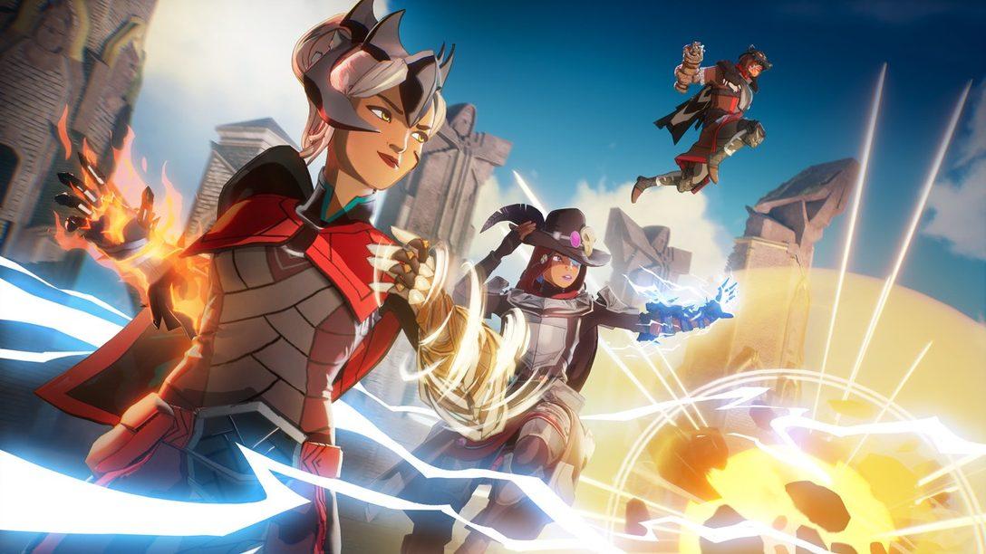 Primeros detalles sobre Clash, el nuevo modo de combate por equipos que llegará a Spellbreak