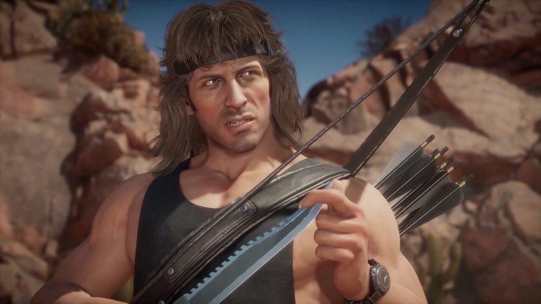 Mortal Kombat 11 Ultimate – Se revela gameplay de Rambo