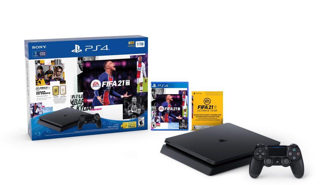 Prepárate para FIFA 21 con una variedad de bundles de PS4 próximos a lanzarse