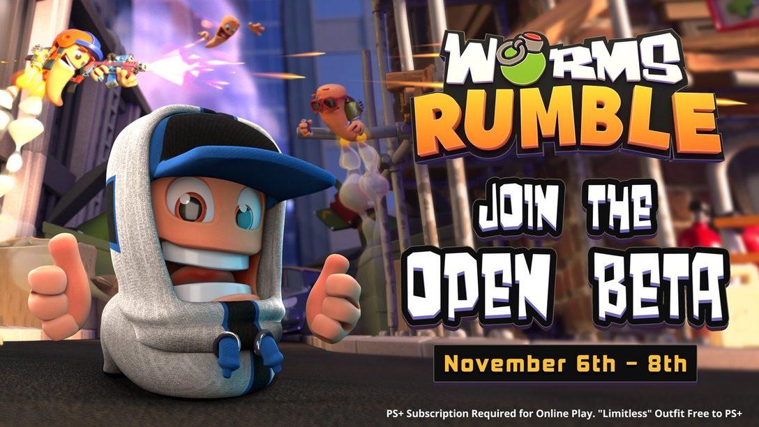 Siete consejos para dominar la beta abierta de Worms Rumble este fin de semana