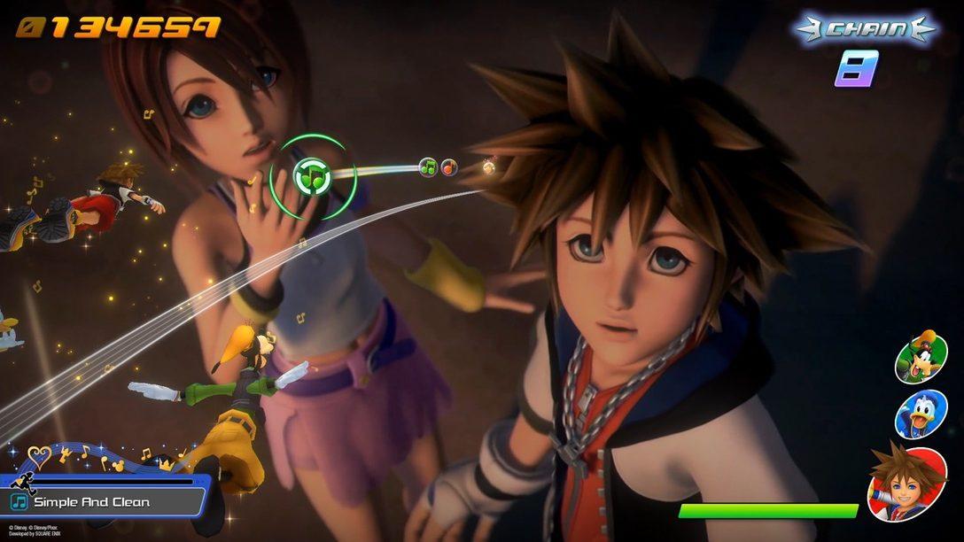 Cinco consejos para dominar la música en Kingdom Hearts Melody of Memory