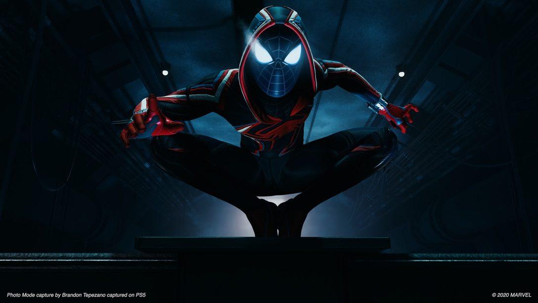 Tráiler del Modo Foto de Marvel's Spider-Man: Miles Morales y consejos del desarrollador