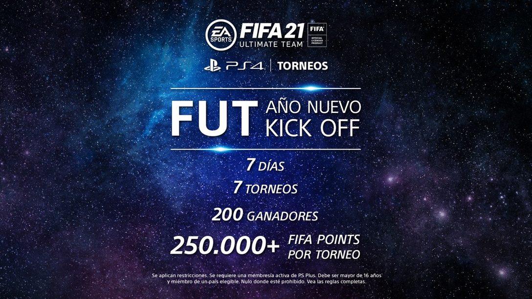Haz el saque del Año Nuevo con FUT en los torneos de PS4