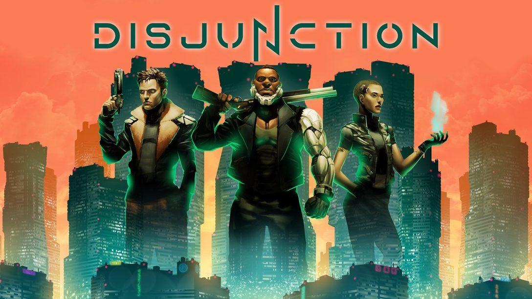 El RPG de acción y sigilo Disjunction llegará a PS4 el 28 de enero