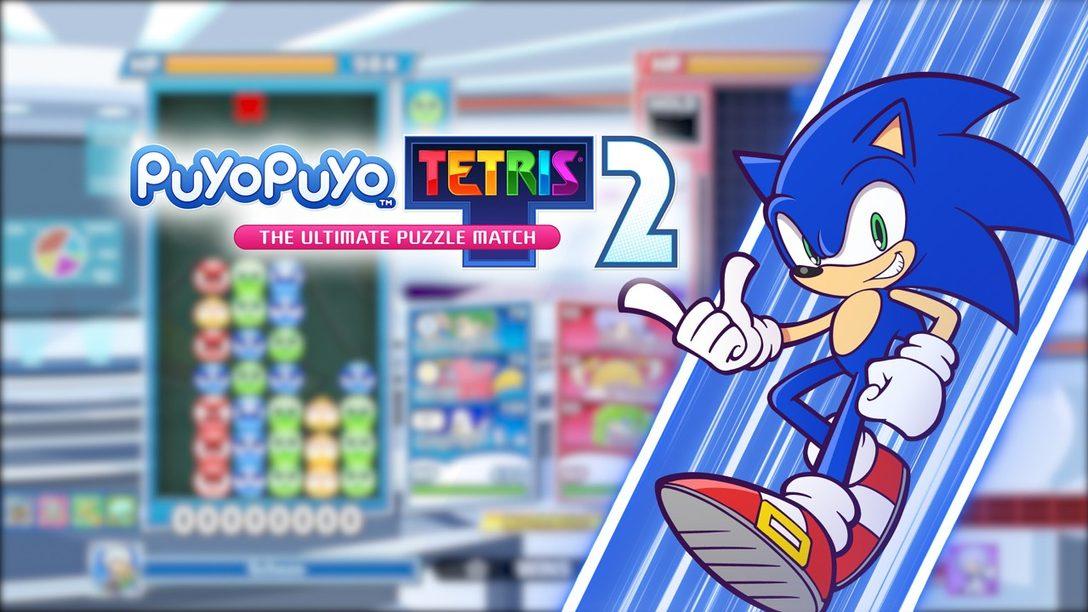 Sonic the Hedgehog corre hacia Puyo Puyo Tetris 2 con la actualización gratuita de hoy