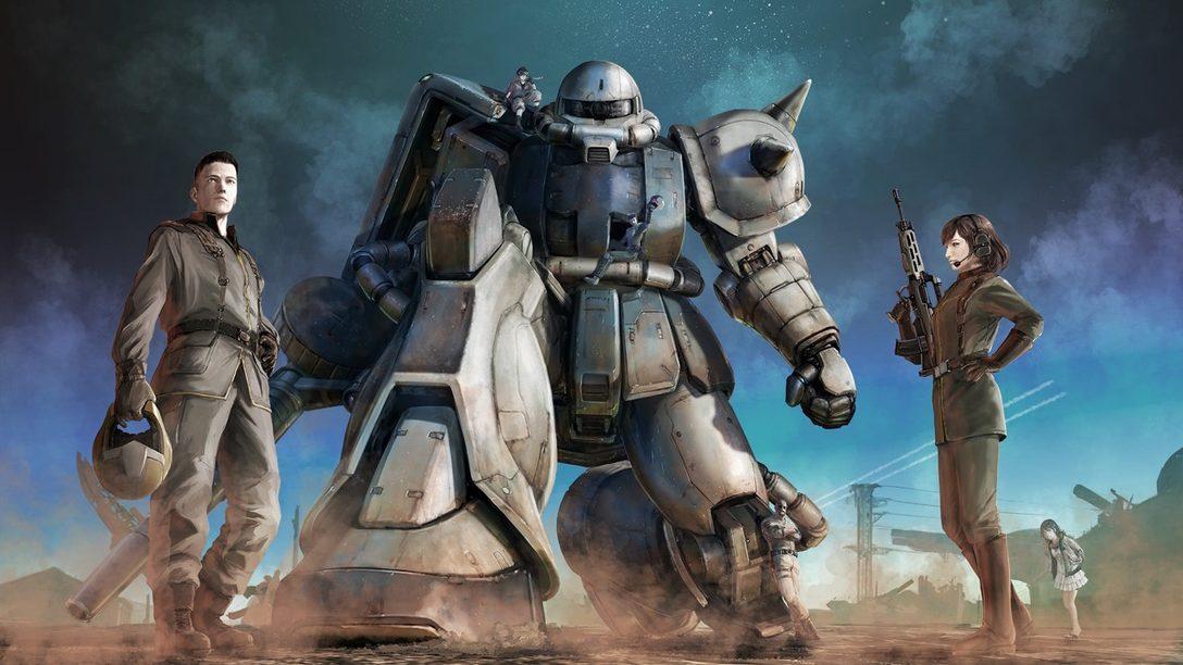 Mobile Suit Gundam Battle Operation 2 llegará a PS5 el 28 de enero
