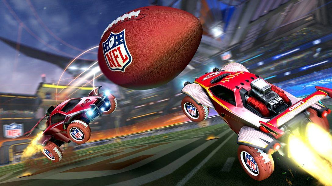 Alístate para la celebración NFL Super Bowl LV en Rocket League