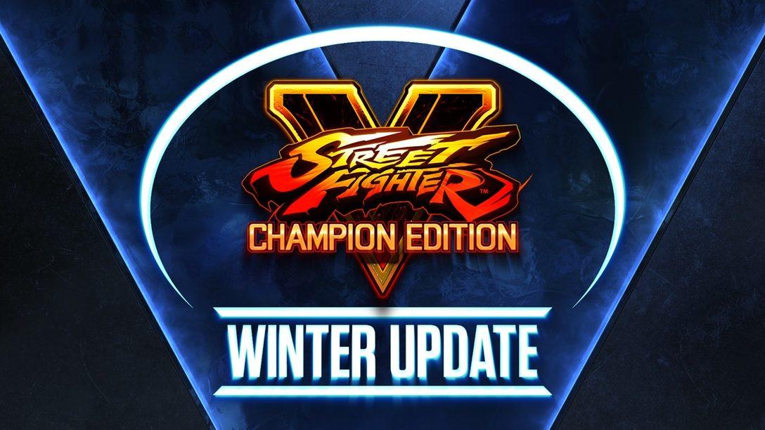 La Temporada 5 de Street Fighter V empieza el 22 de febrero