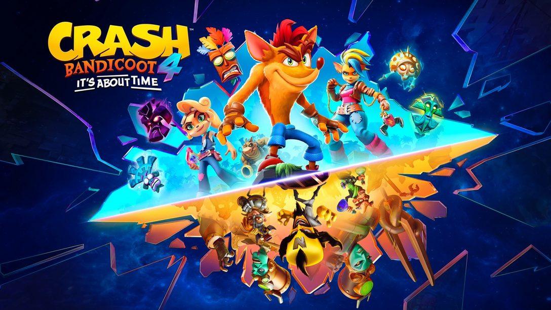 Crash Bandicoot 4: It's About Time llegará a PS5 el 12 de marzo