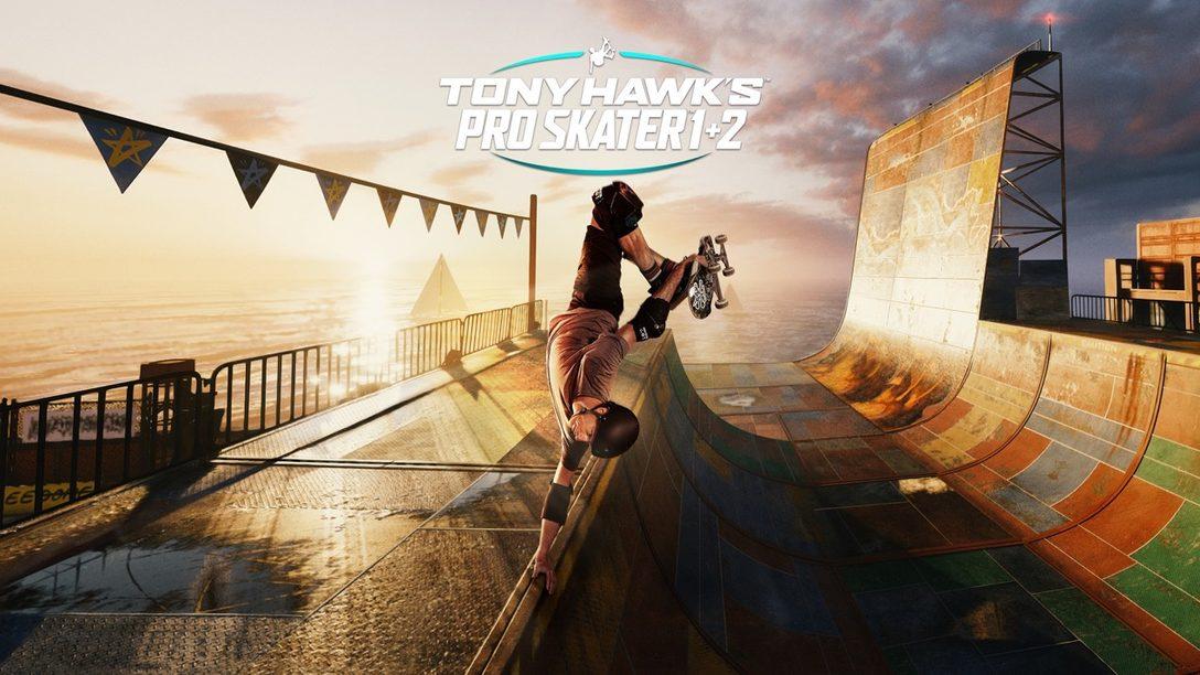 Tony Hawk's Pro Skater 1 + 2 llegará a PS5 el 26 de marzo