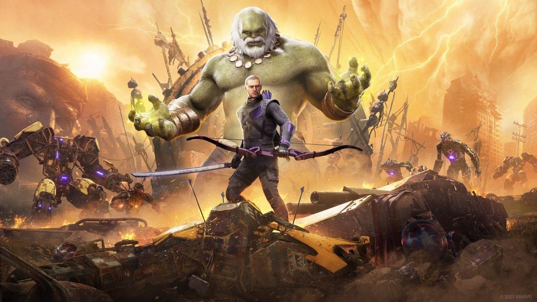 Hawkeye llegará a Marvel's Avengers el 18 de marzo