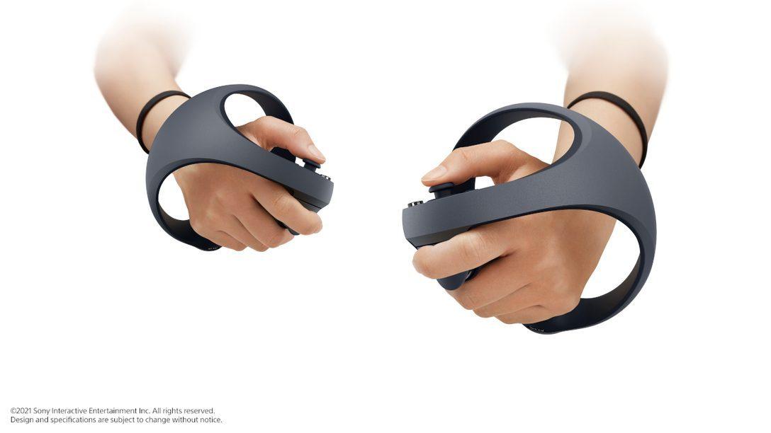 VR de última generación en PS5: el nuevo control inalámbrico