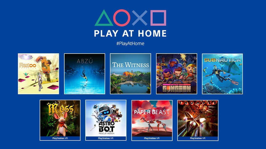 Actualización de Play at Home 2021: 10 juegos gratuitos que puedes descargar esta temporada