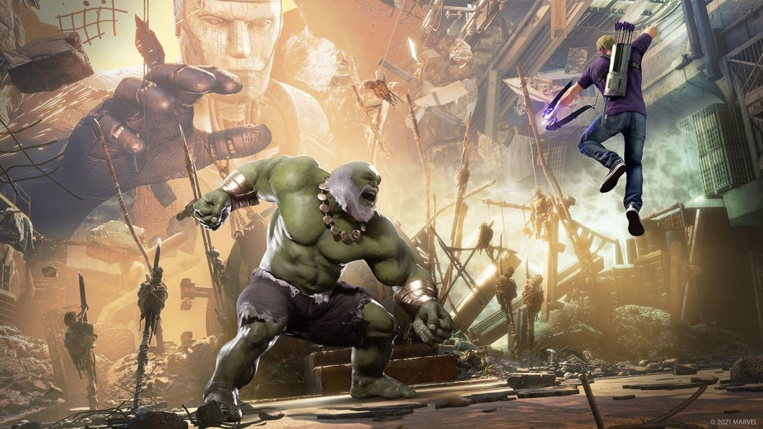 Nuevos detalles sobre las mejoras de Marvel's Avengers en PS5, Black Panther y más