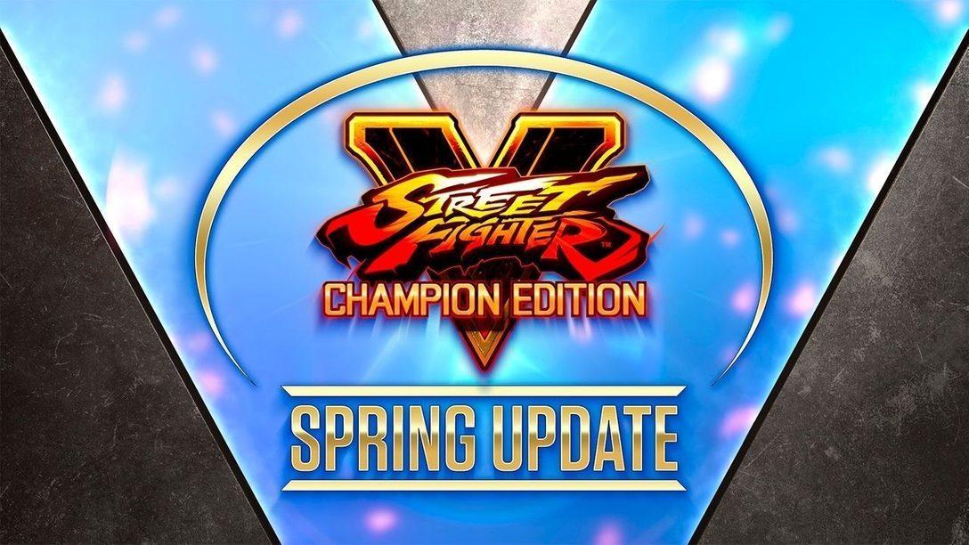Street Fighter V Spring Update trae noticias sobre el ermitaño Oro y el poder del alma, Rose