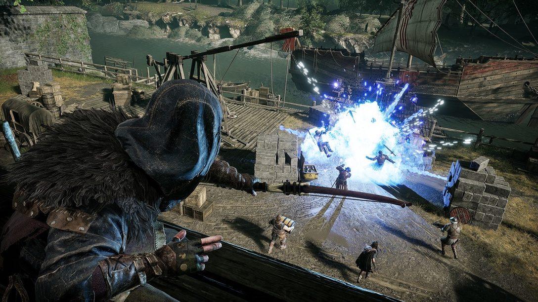 Aprovechando las funciones del control DualSense en Hood: Outlaws & Legends