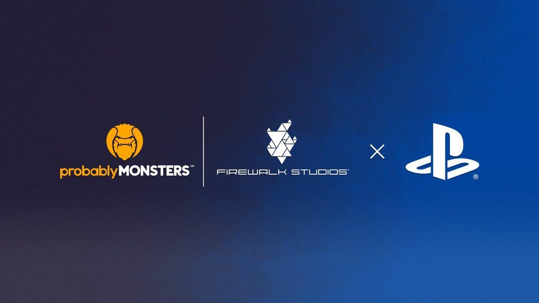 PlayStation y Firewalk Studios anunciaron una asociación editorial para un nuevo juego multijugador original