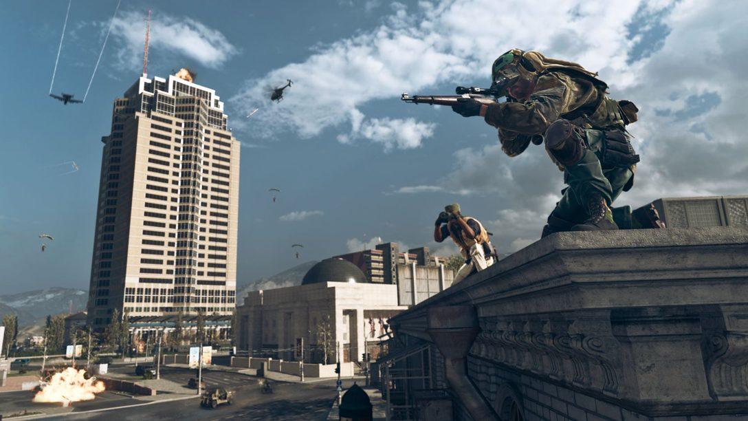 Una mirada más cercana al interior del Nakatomi Plaza de Die Hard, ya en Warzone