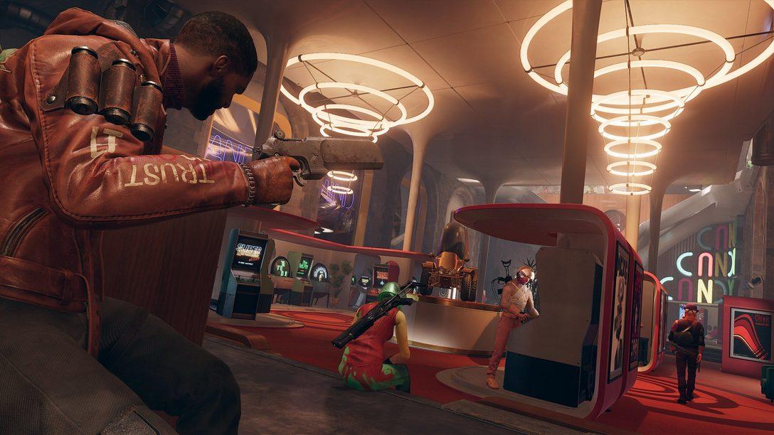 Deathloop: combate, exploración y características de PS5 detalladas