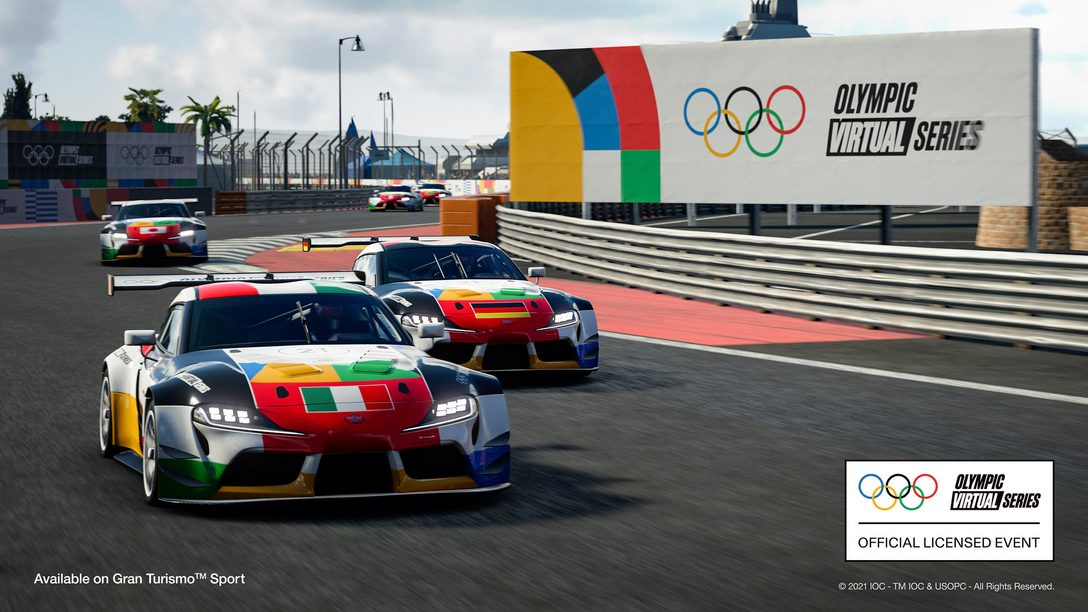 El primer Evento Olympic Virtual Series – Deportes de Motor de la historia se transmitirá el 23 de junio