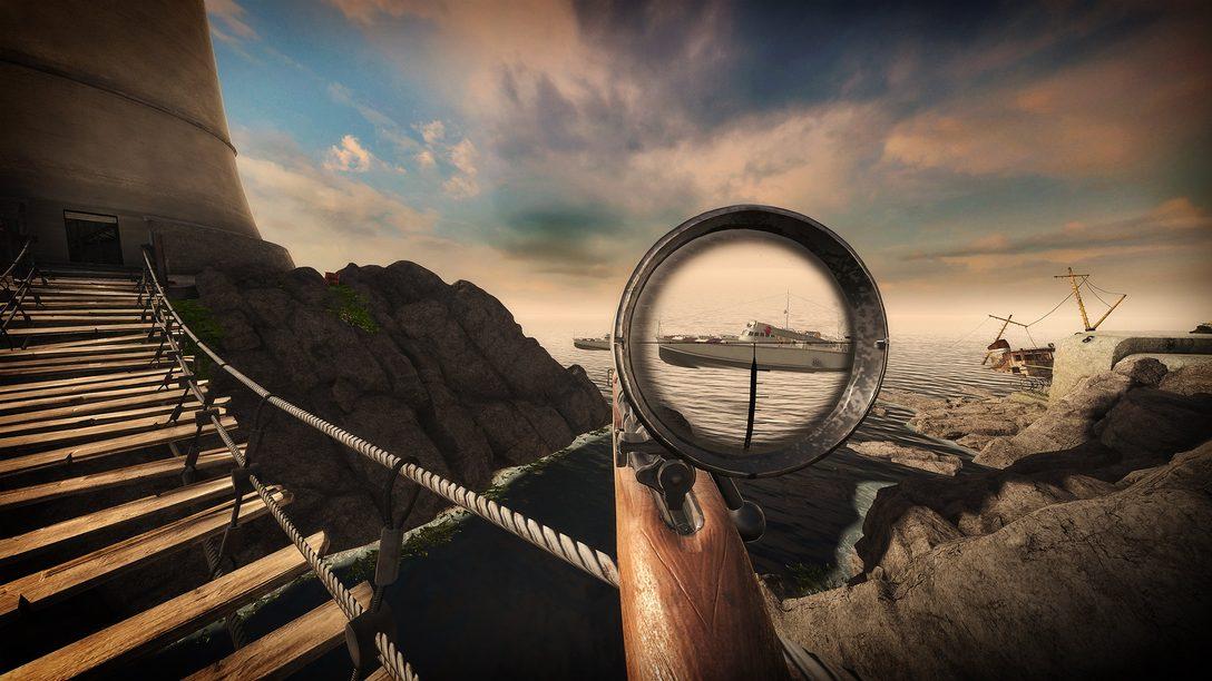 Sniper Elite VR llega de un tiro a PS VR el 8 de julio