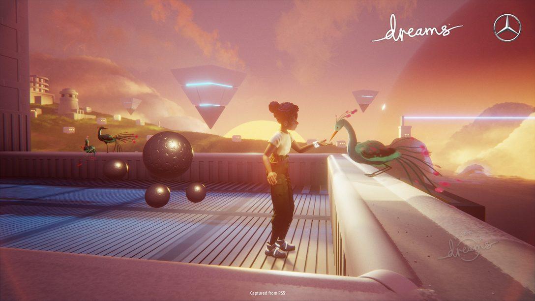 Imaginen el futuro con Dreams y Mercedes-Benz