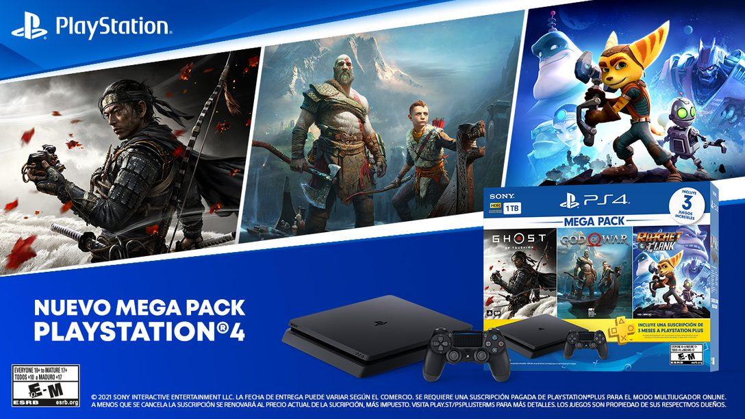 El nuevo Mega Pack empezará a llegar a las tiendas a partir de junio