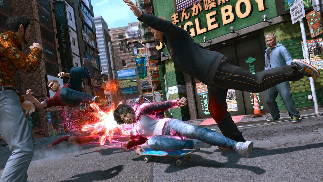 Lost Judgment: nuevo tráiler y detalles del gameplay