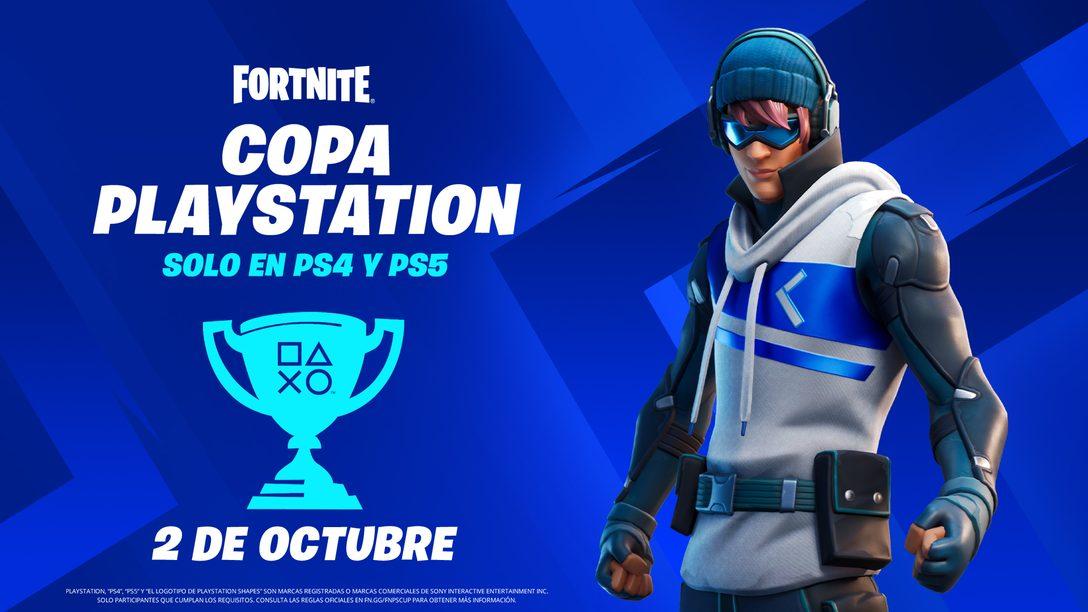 Compite en la Fortnite PlayStation Cup por un pedazo de la bolsa de premios globales de 110,000 dólares