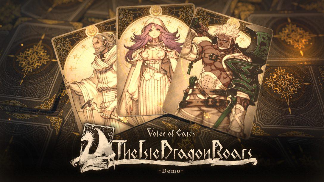 Todo lo que necesitas saber acerca de Voice of Cards: The Isle Dragon Roars. Demo ya disponible
