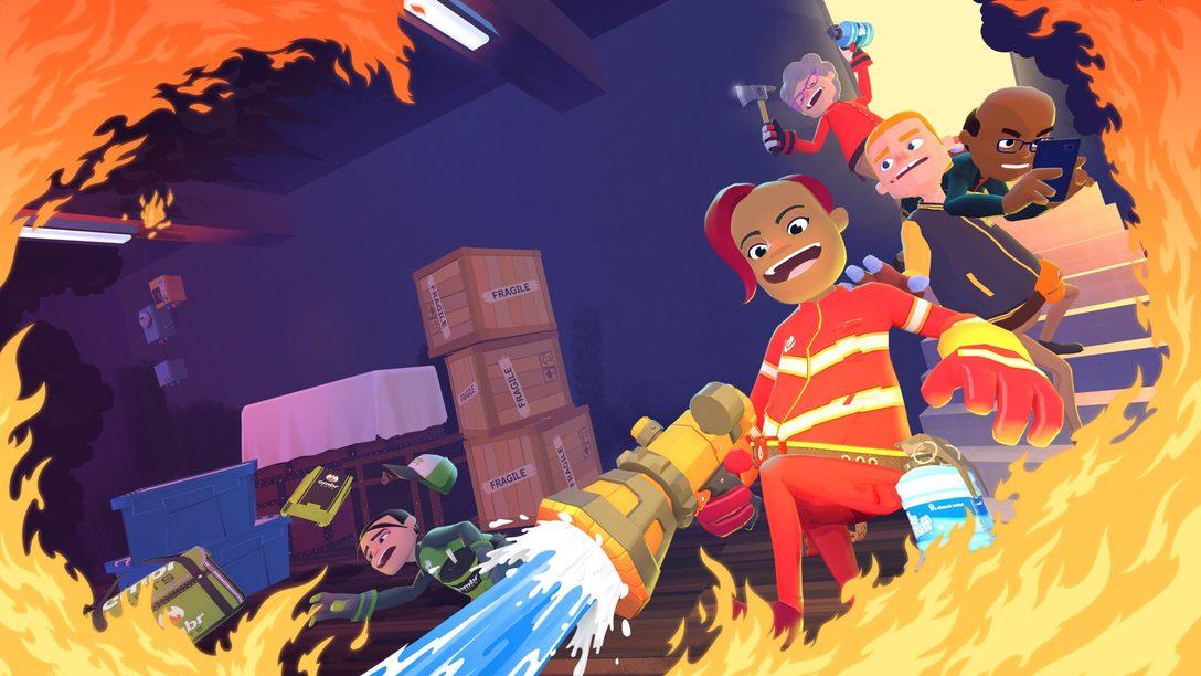 Jueguen a los bomberos a sueldo en el multijugador frenético de Embr, disponible mañana